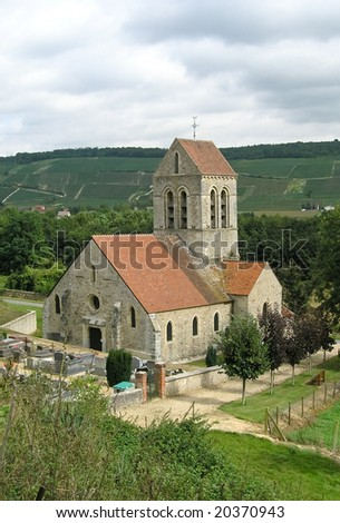 Church in a valley