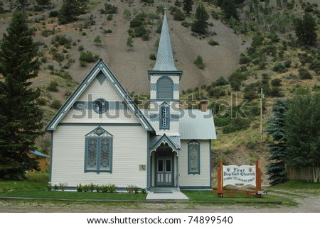 Church in Lake City, Colorado
