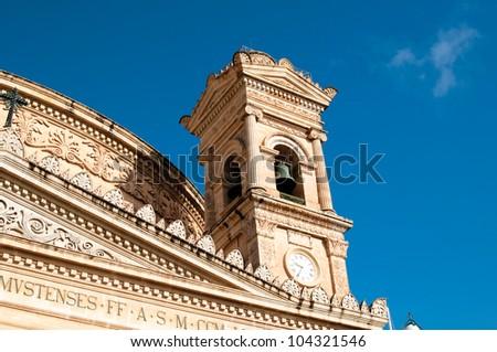 Church in Malta - stock photo