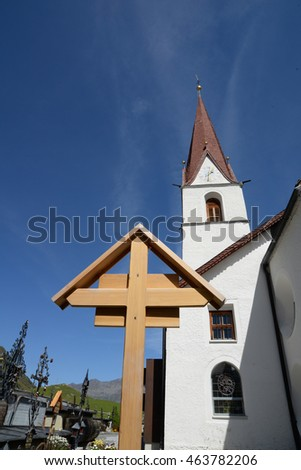 Church in Obergurgl, Austria
