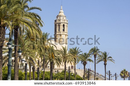 Church in the Spain, Sitges