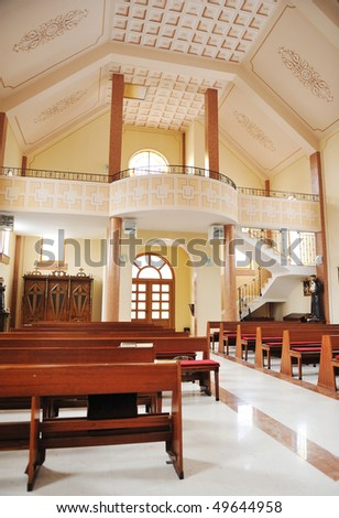 Church inside - stock photo