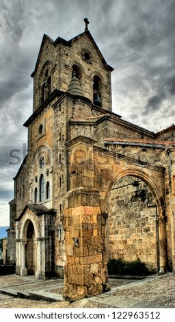 Church of Frias, Burgos, Spain