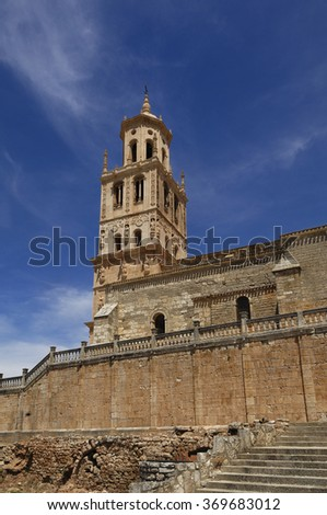 Church of Our Lady of the Assumption, Santa Maria del Campo. Burgos province, Castilla-Leon, Spain