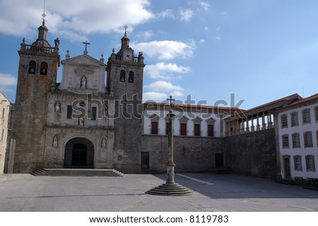 church of s? in Viseu, Portugal - stock photo