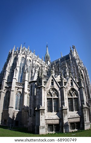 Church of Saint Peter and Saint Paul in Ostend, Belgium - stock photo