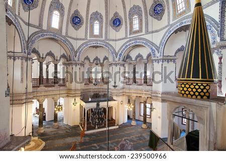 Church of Saints Sergius and Bacchus, Istanbul, Turkey. - stock photo