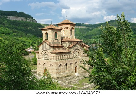 church of St. Demetrius of Thessaloniki in Veliko Tarnovo, Bulgaria