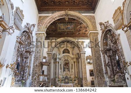 Church of St. Giovanni Evangelista. Lecce. Puglia. Italy. - stock photo