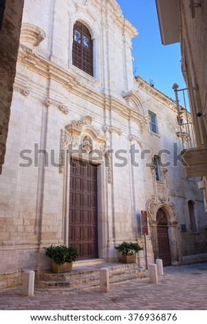 Church of St. Leonardo. Monopoli. Puglia. Italy.
