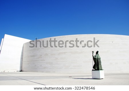 Church of the Holy Trinity, Fatima, Portugal - stock photo