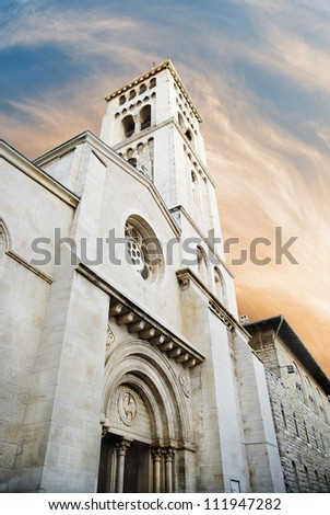 Church of the Redeemer, Jerusalem, Israel - stock photo