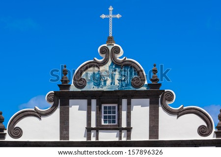 church roof - stock photo