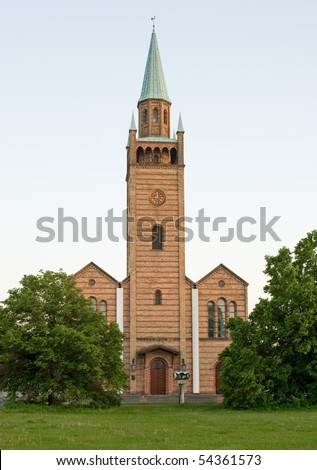Church St. Matth�¤us (Saint Matthew) in Berlin-Tiergarten - stock photo