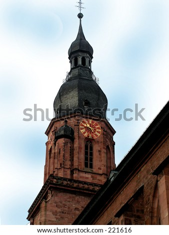 Church Tower at Luxembourg City