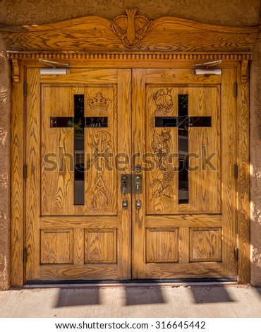 Churches - stock photo
