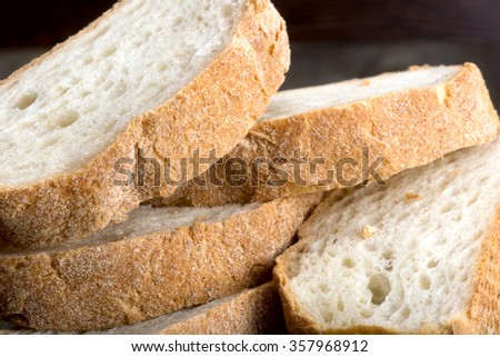 ... of baked bread isolated on white background assortment of bread