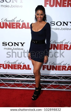 "Ciara at the ""Death at a Funeral"" World Premiere, Arclight, Hollywood, CA. 04-12-10"