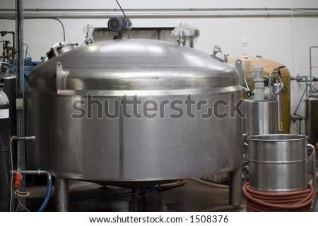 Cider Fermentation Vessel - stock photo