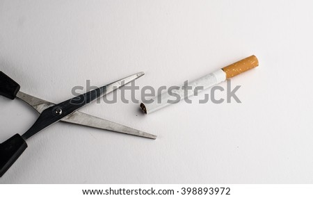 Cigarette, life, hand - stock photo