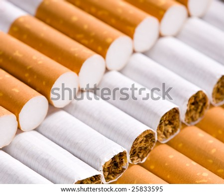 cigarettes closeup