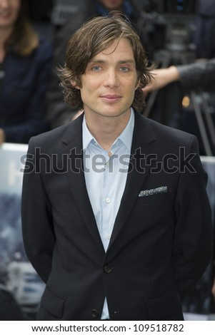 """Cillian Murphy arriving for European premiere of """"The Dark Knight Rises"""" at the Odeon Leicester Square, London. 18/07/2012 Picture by: Simon Burchell / Featureflash - stock photo"""