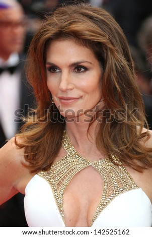 Cindy Crawford at the 66th Cannes Film Festival - Opening ceremony and Great Gatsby premiere, Cannes, France. 15/05/2013