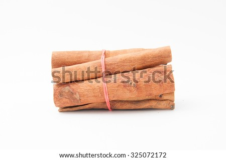 Cinnamomun (cinnamon) cassia is a one of species cinnamomun are widely cultivated in China and elsewhere in southern and eastern Asia. -stock photo