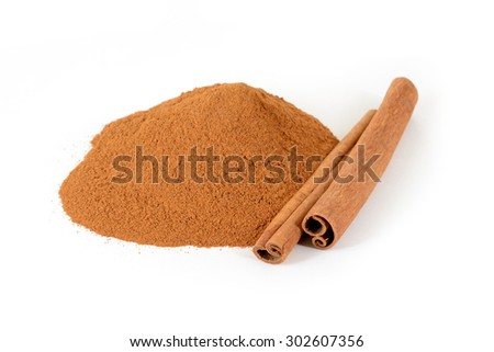 cinnamon - stock photo
