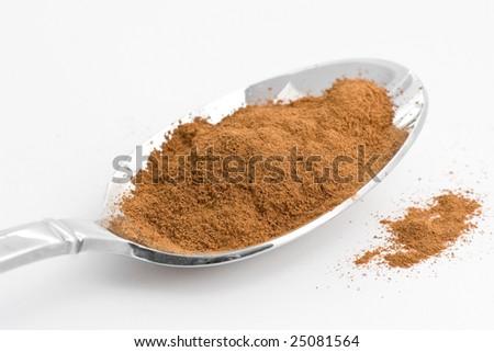 Cinnamon Powder - stock photo
