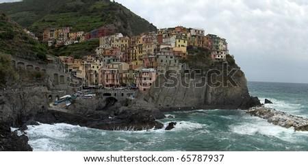 Cinque Terra Italy - stock photo