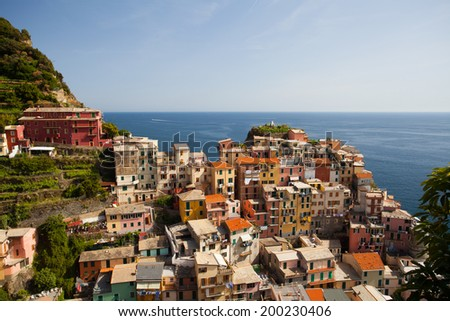 Cinque Terre, Italy - stock photo