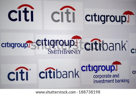 Circa march 2014 berlin logo brand stock photo edit now shutterstock circa march 2014 berlin the logo of the brand citibank and altavistaventures Choice Image