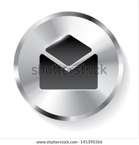 Circle Metal Contact Button.