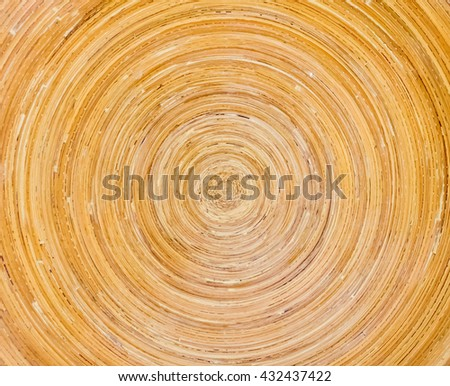 Circle texture wood background