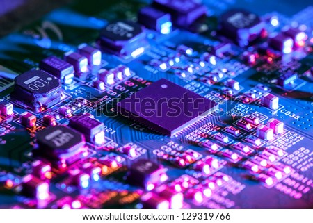 Circuit Board - stock photo