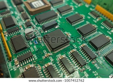 circuit board electronic components background stock photo royalty rh shutterstock com
