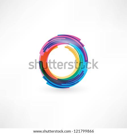 Circular Symbol - stock photo