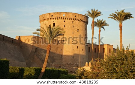 Citadel of Saladin in Cairo, Egypt - stock photo