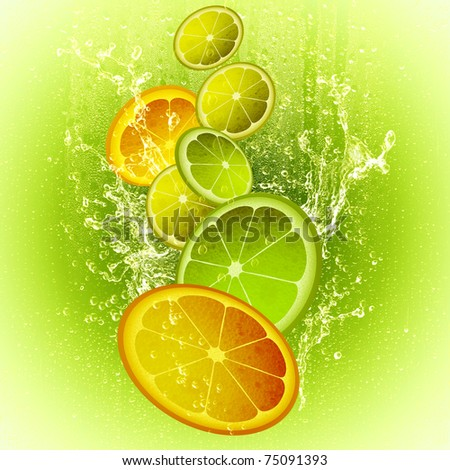 CITRON MIX - stock photo