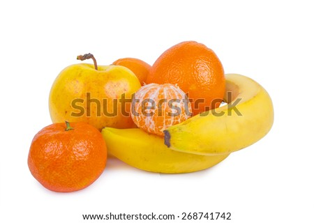citrus background - lime, lemon, orange,