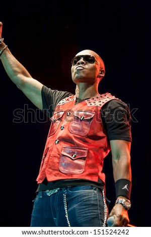 CITRUS HEIGHTS, CA - AUGUST15: Ronnie Devoe of Bell Biv Devoe performs at the Sunrise at Night Concert Series at Sunrise Marketplace in Citrus Heights, California