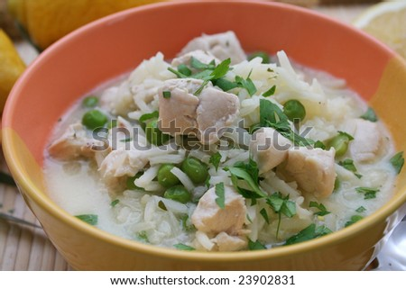 citrussoup with chicken
