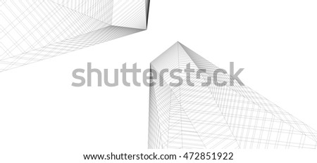 city building 3d illustration