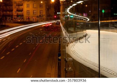 City by night 4 - stock photo