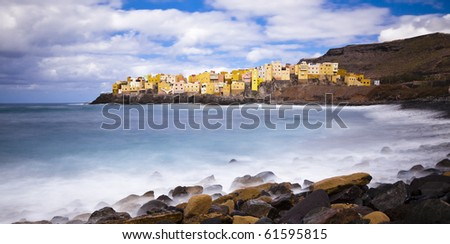 City by the Sea - stock photo