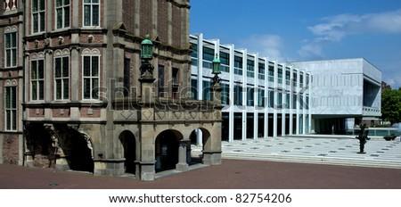 City Hall - Arnhem, The Netherlands - stock photo