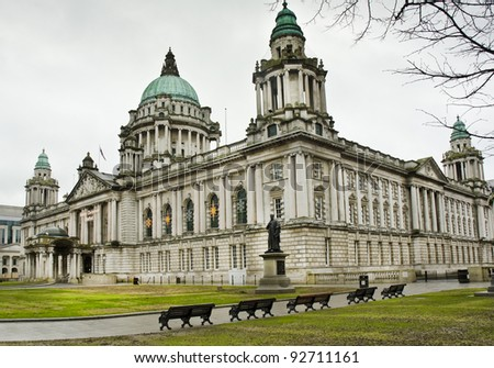 City Hall, Donegall Square, Belfast, Northern Ireland