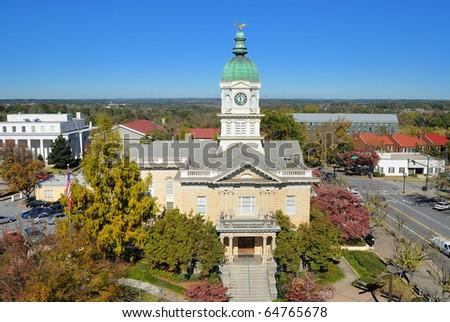 City Hall in Athens, Georgia - stock photo