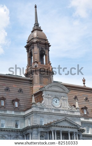 City Hall in Montreal, Canada - stock photo